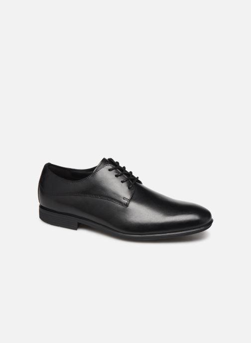 Chaussures à lacets Rockport SC WP Plain Toe C Noir vue détail/paire