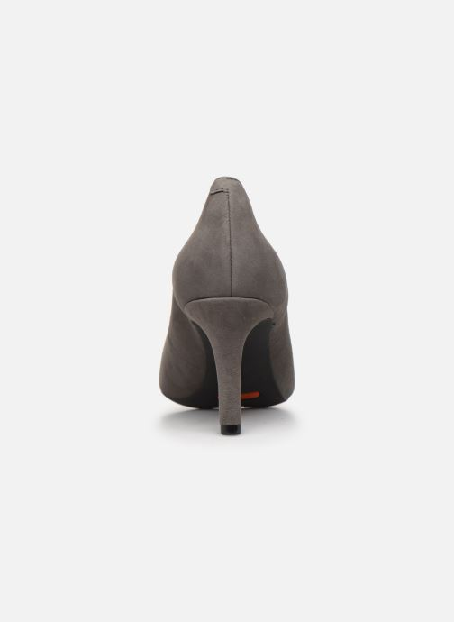 High heels Rockport TM75MMPTH Scallop C Grey view from the right