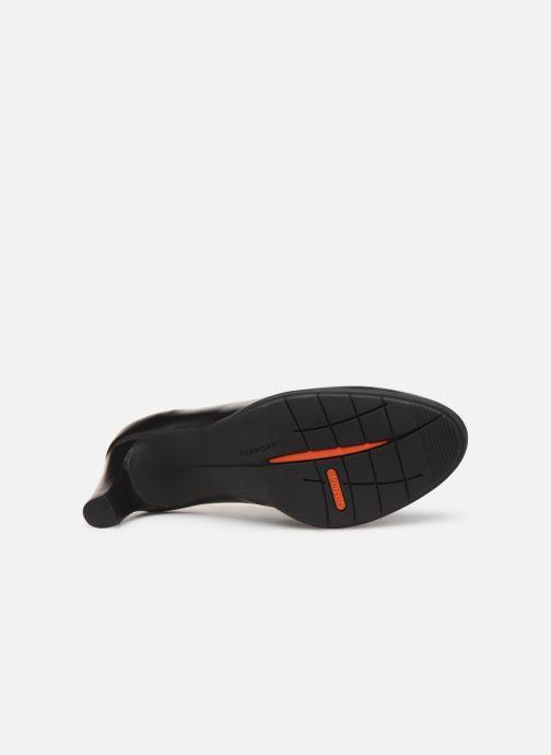 Zapatos de tacón Rockport Melora Plain Pump C2 Negro vista de arriba