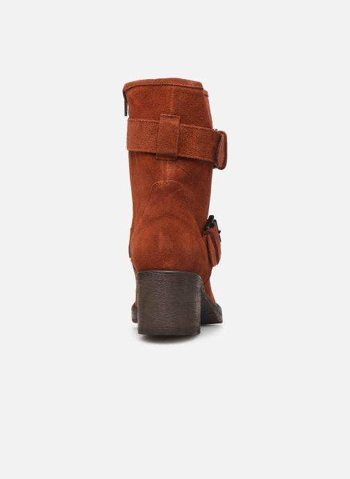 Bottines et boots Sweet Lemon ELAINE Orange vue droite