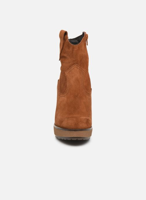 Ankle boots Sweet Lemon SAINO Brown model view