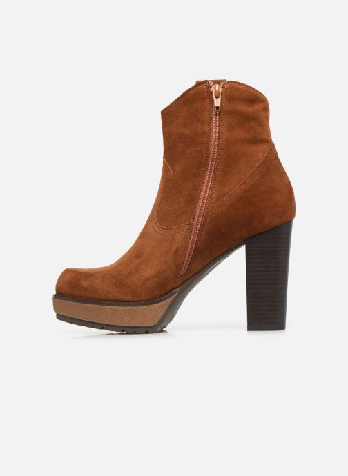 Ankle boots Sweet Lemon SAINO Brown front view