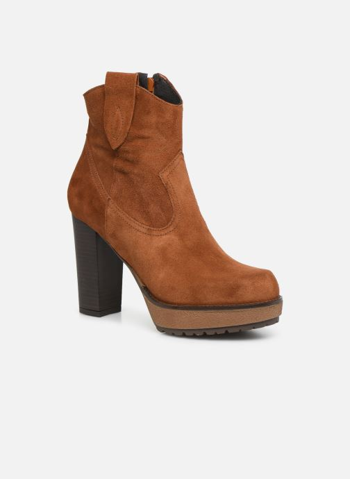 Ankle boots Sweet Lemon SAINO Brown detailed view/ Pair view