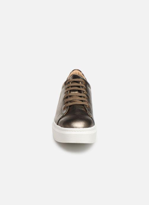 Baskets Sweet Lemon BISTRO Or et bronze vue portées chaussures