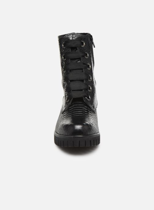Bottines et boots Sweet Lemon L.49.DASHA Noir vue portées chaussures
