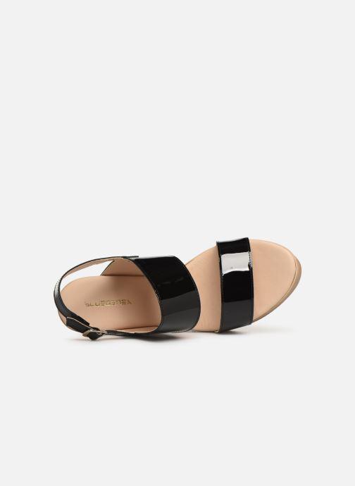 Sandales et nu-pieds Bluegenex B-2123 Noir vue gauche
