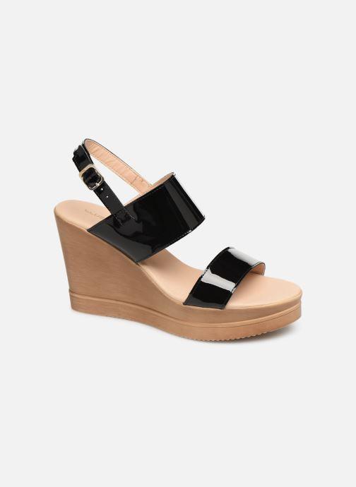 Sandales et nu-pieds Bluegenex B-2123 Noir vue détail/paire