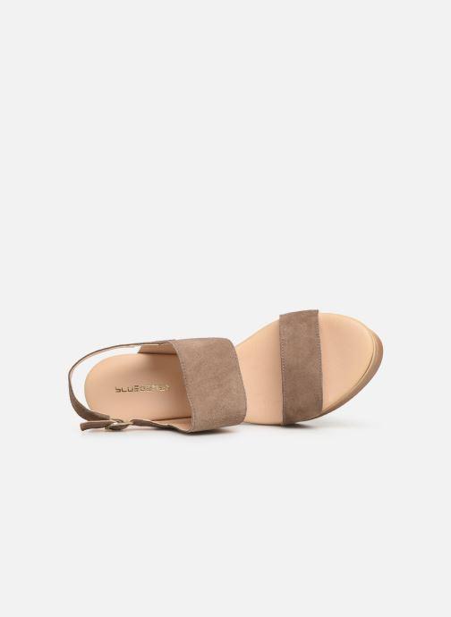 Sandales et nu-pieds Bluegenex B-2123 Marron vue gauche