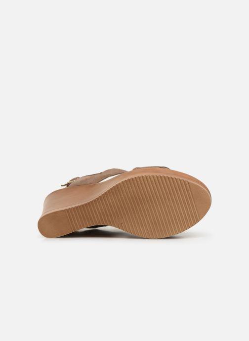 Sandales et nu-pieds Bluegenex B-2123 Marron vue haut