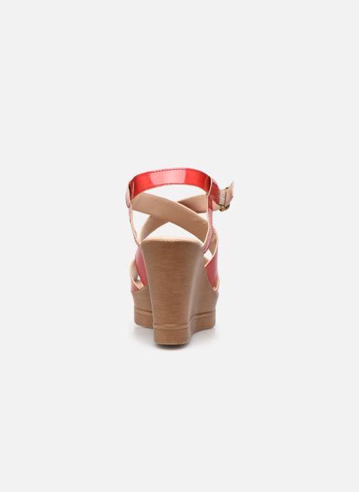 Sandali e scarpe aperte Bluegenex B-2127 Rosso immagine destra