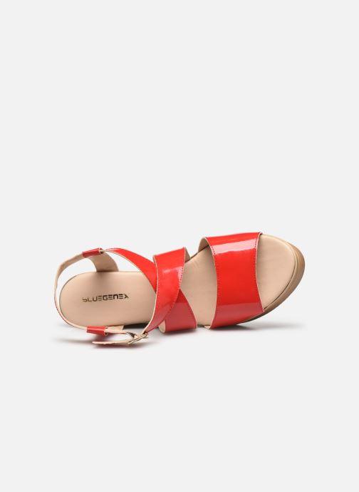 Sandali e scarpe aperte Bluegenex B-2127 Rosso immagine sinistra