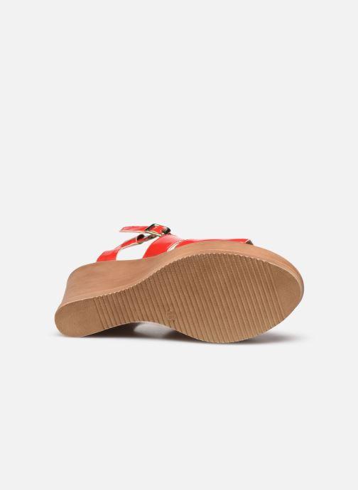 Sandali e scarpe aperte Bluegenex B-2127 Rosso immagine dall'alto