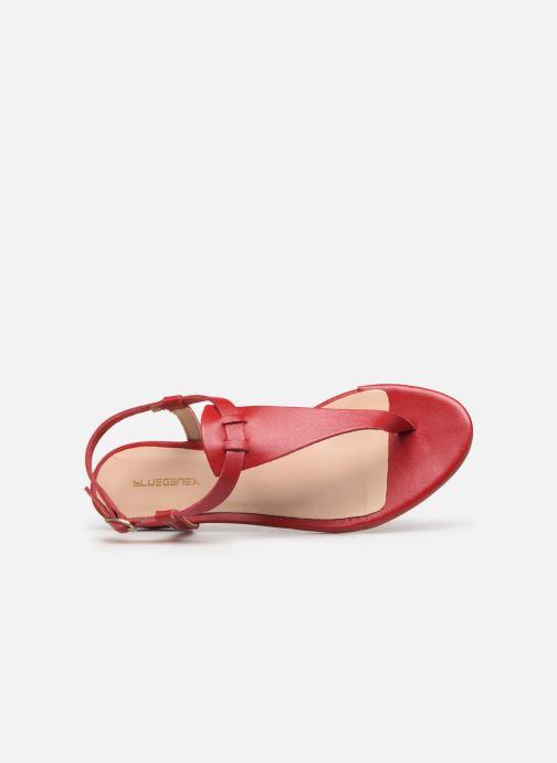 Sandales et nu-pieds Bluegenex B-2251 Rouge vue gauche