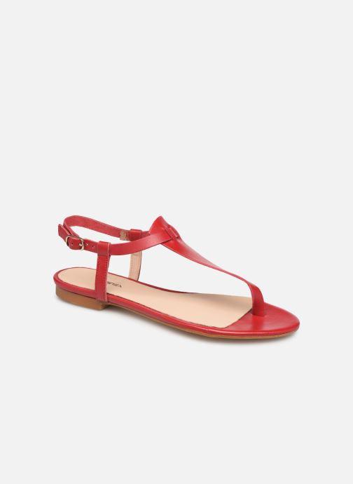 Sandales et nu-pieds Bluegenex B-2251 Rouge vue détail/paire