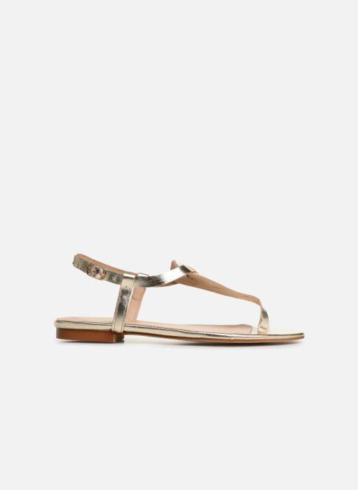 Sandales et nu-pieds Bluegenex B-2251 Or et bronze vue derrière