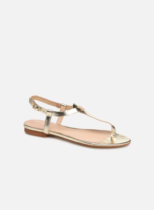 Sandales et nu-pieds Bluegenex B-2251 Or et bronze vue détail/paire
