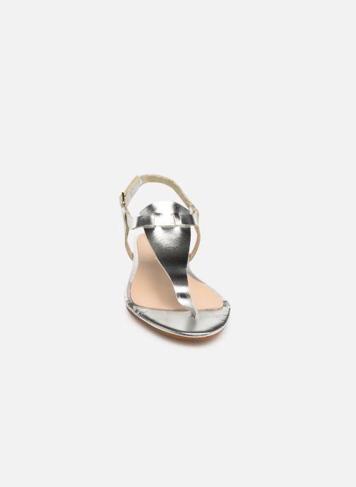 Sandales et nu-pieds Bluegenex B-2251 Argent vue portées chaussures