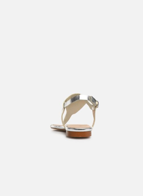 Sandals Bluegenex B-2251 Silver view from the right