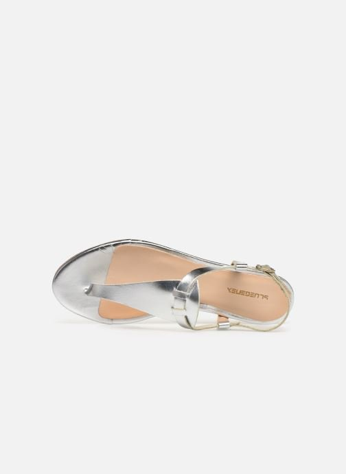 Sandals Bluegenex B-2251 Silver view from the left