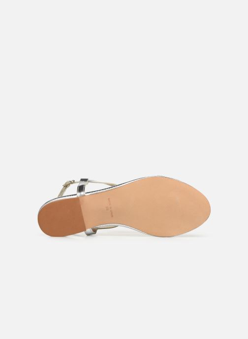 Sandals Bluegenex B-2251 Silver view from above