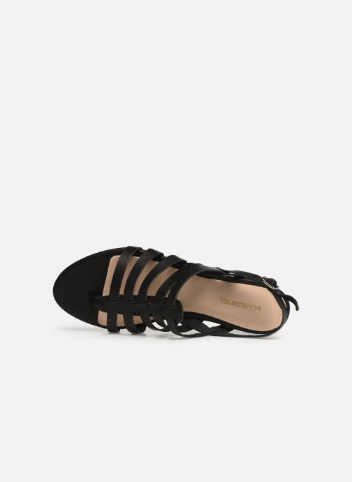 Sandales et nu-pieds Bluegenex B-2253 Noir vue gauche