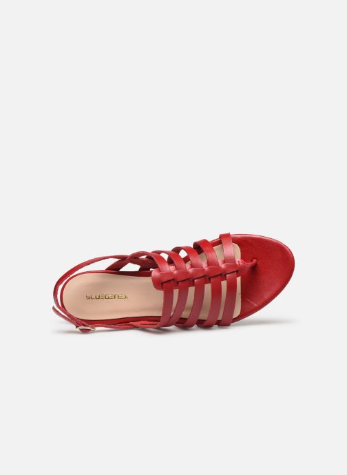 Sandali e scarpe aperte Bluegenex B-2253 Rosso immagine sinistra