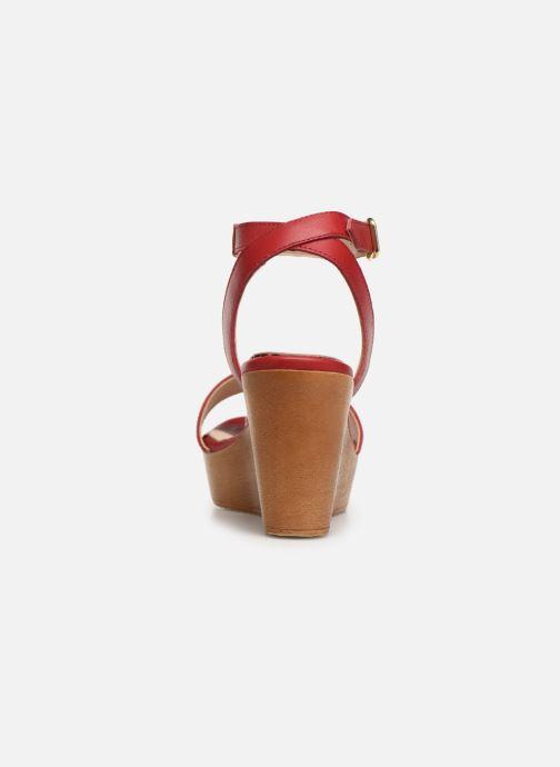 Sandali e scarpe aperte Bluegenex B-2261 Rosso immagine destra