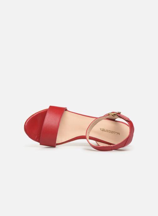 Sandali e scarpe aperte Bluegenex B-2261 Rosso immagine sinistra