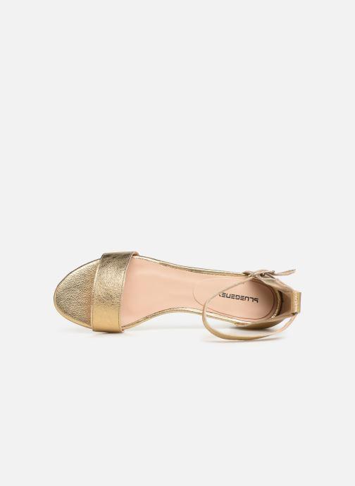 Sandales et nu-pieds Bluegenex Claudia Pulsera Argent vue gauche