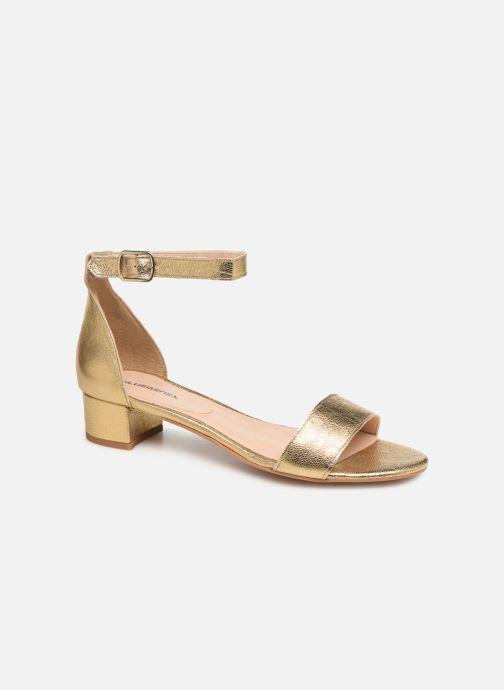 Sandales et nu-pieds Bluegenex Claudia Pulsera Argent vue détail/paire