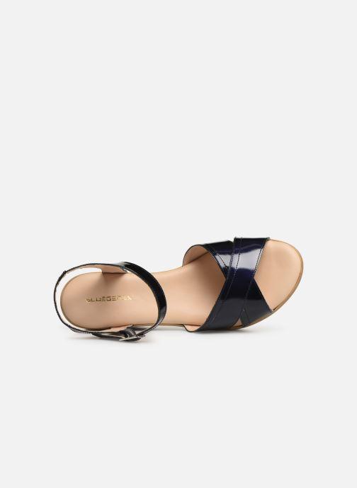 Sandales et nu-pieds Bluegenex B-2122 Bleu vue gauche