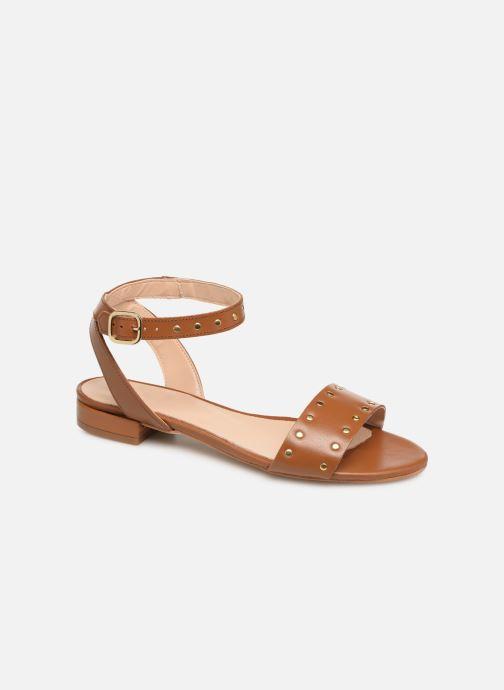 Sandales et nu-pieds Bluegenex B-2271 Marron vue détail/paire