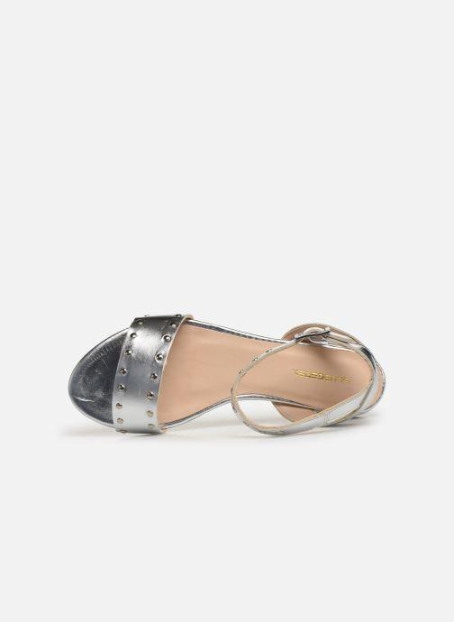 Sandales et nu-pieds Bluegenex B-2271 Argent vue gauche