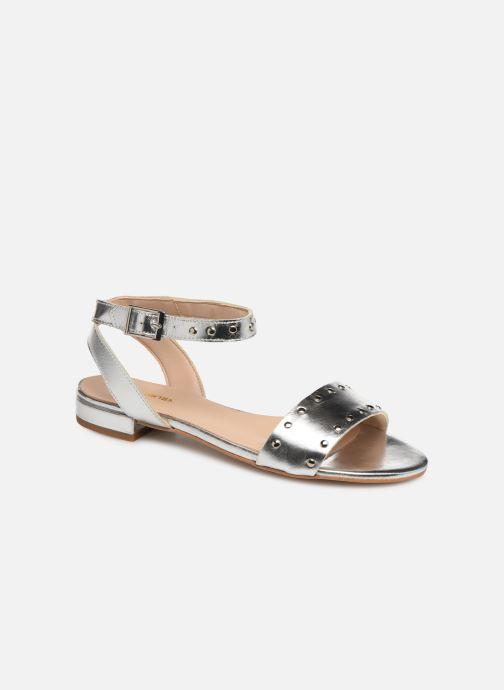 Sandales et nu-pieds Bluegenex B-2271 Argent vue détail/paire