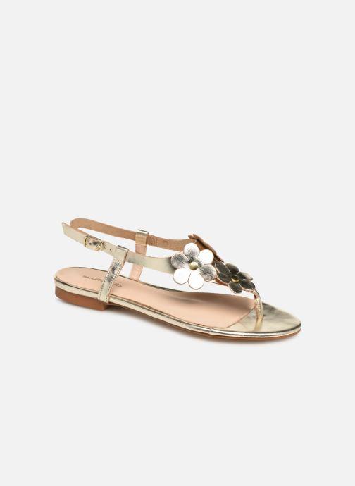 Sandales et nu-pieds Bluegenex B-2254 Or et bronze vue détail/paire