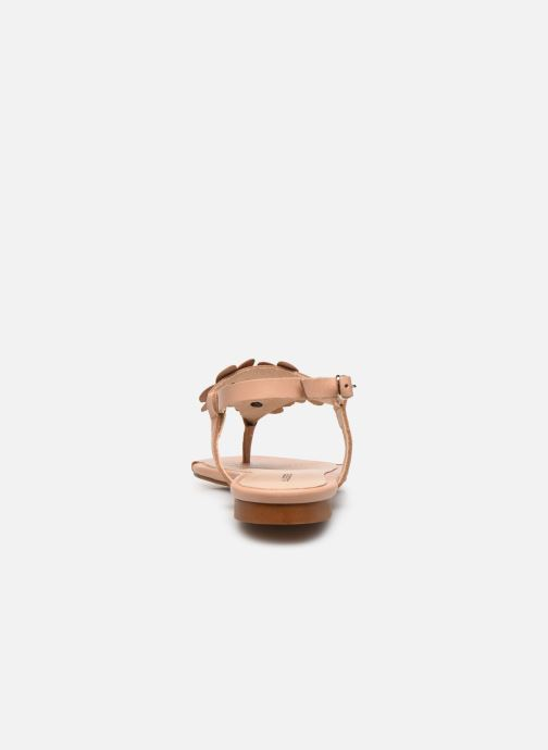 Sandali e scarpe aperte Bluegenex B-2254 Beige immagine destra