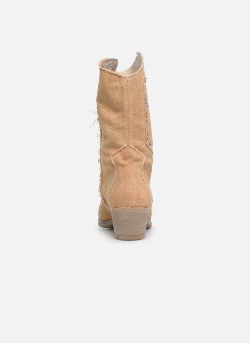 Støvler & gummistøvler Humat Dakota Tacha Beige Se fra højre
