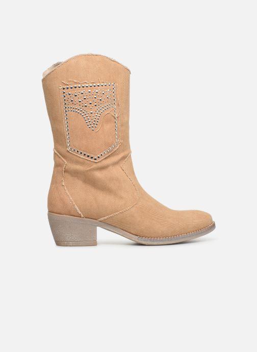 Støvler & gummistøvler Humat Dakota Tacha Beige se bagfra