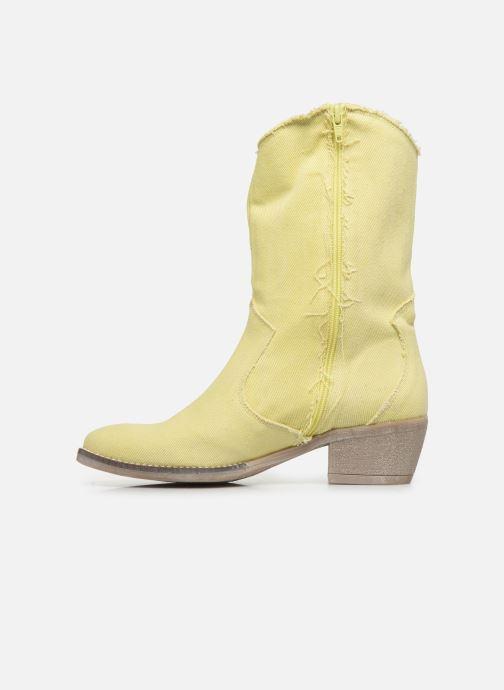 Botas Humat Dakota Tacha Amarillo vista de frente