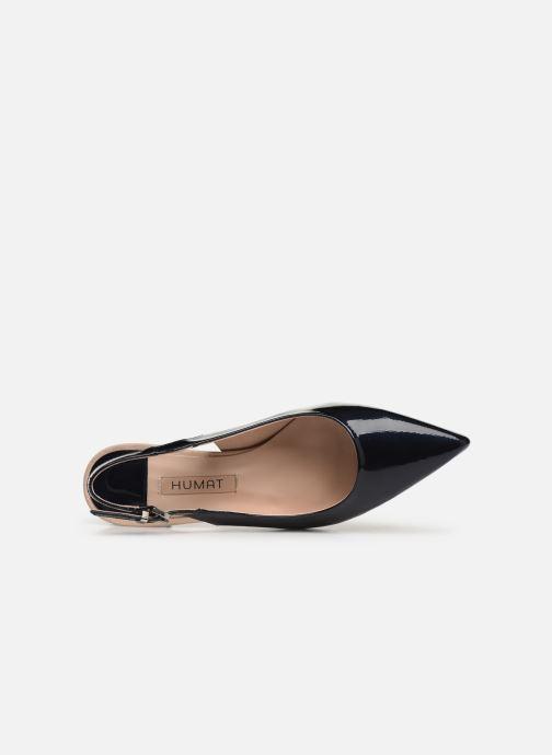 Sandales et nu-pieds Humat Elena Salon Bleu vue gauche