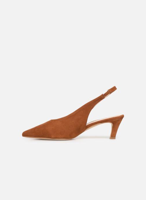 Sandali e scarpe aperte Humat Galena Alto Marrone immagine frontale