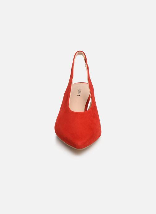 Sandales et nu-pieds Humat Galena Alto Rouge vue portées chaussures