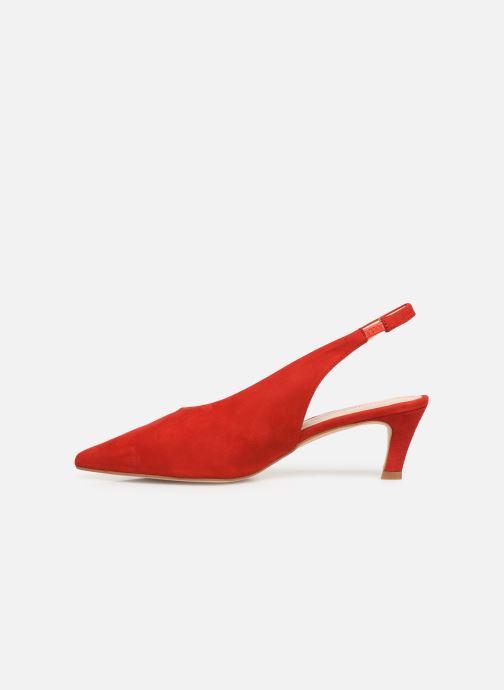 Sandales et nu-pieds Humat Galena Alto Rouge vue face