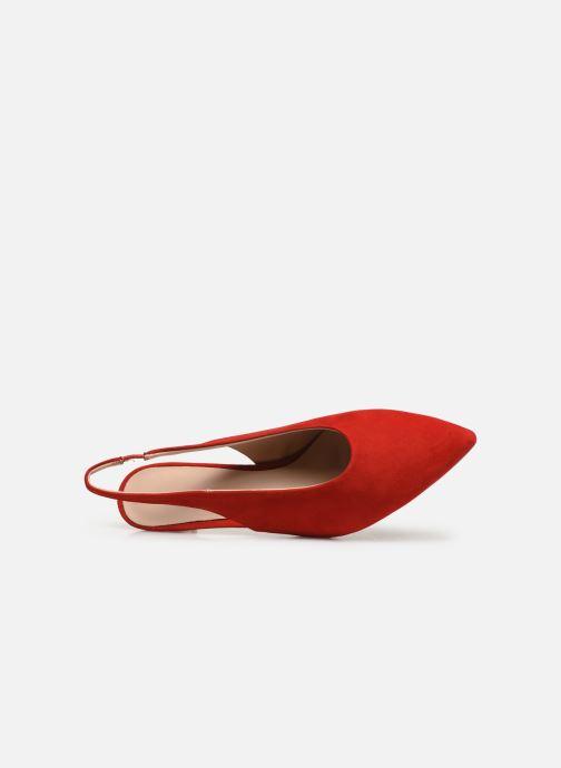 Sandales et nu-pieds Humat Galena Alto Rouge vue gauche