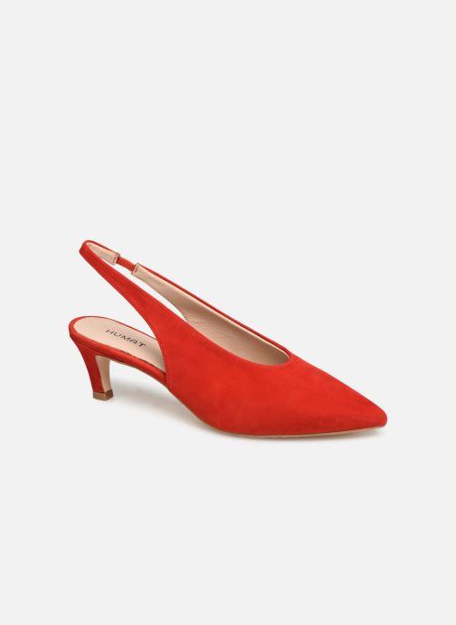 Sandales et nu-pieds Humat Galena Alto Rouge vue détail/paire