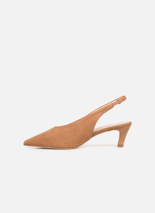 Sandales et nu-pieds Humat Galena Alto Marron vue face