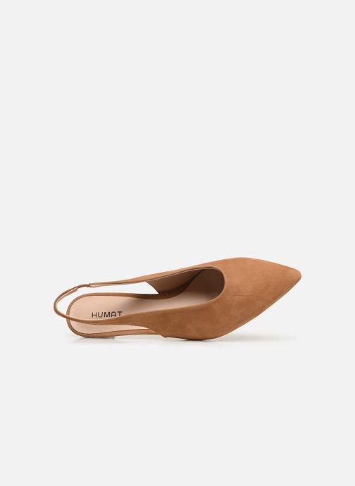 Sandales et nu-pieds Humat Galena Alto Marron vue gauche
