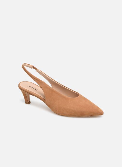 Sandales et nu-pieds Humat Galena Alto Marron vue détail/paire