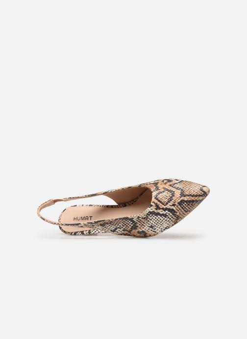 Sandali e scarpe aperte Humat Galena Alto Marrone immagine sinistra