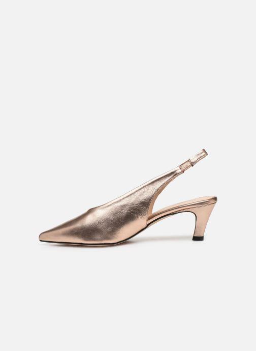 Sandali e scarpe aperte Humat Galena Alto Rosa immagine frontale